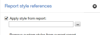 Report Style Reference