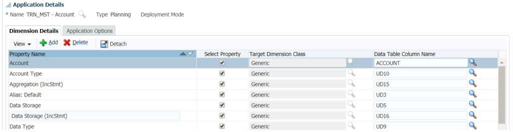 How to add properties you are importing from a flat file in Oracle PBCS