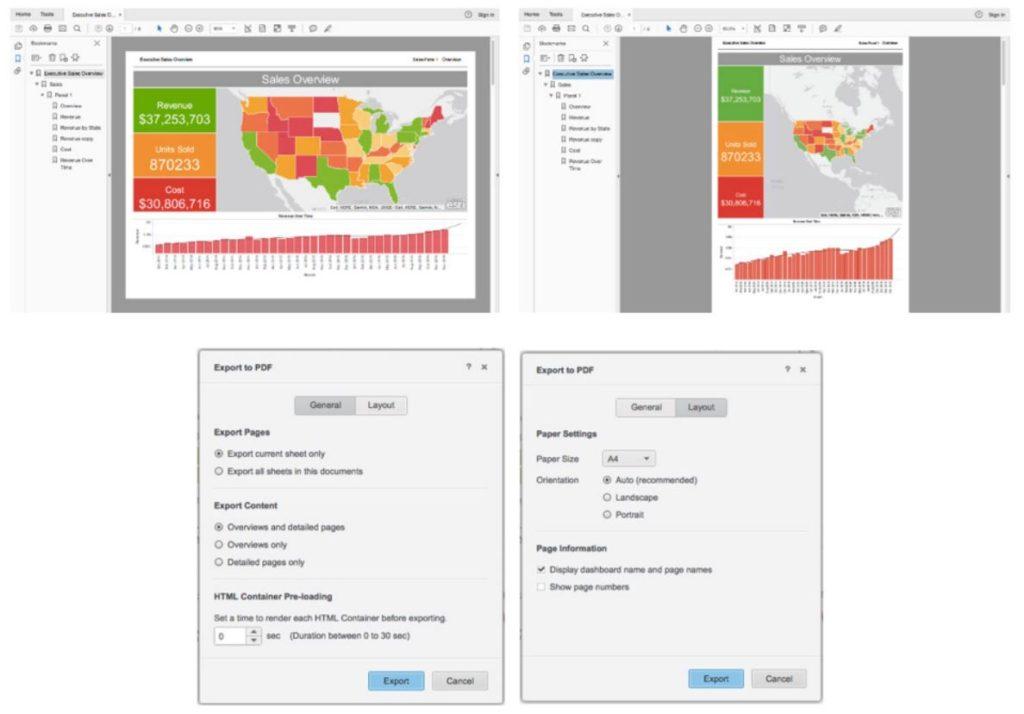 Report customization in MicroStrategy 10.8