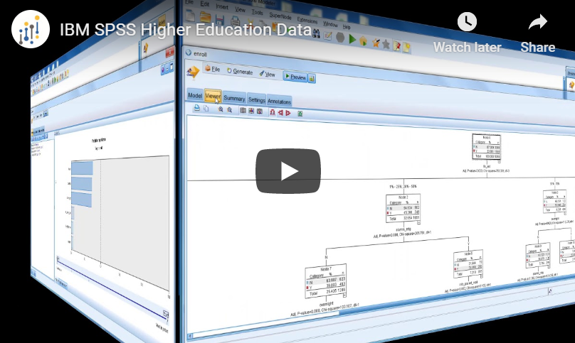 IBM SPSS Higher Education Data