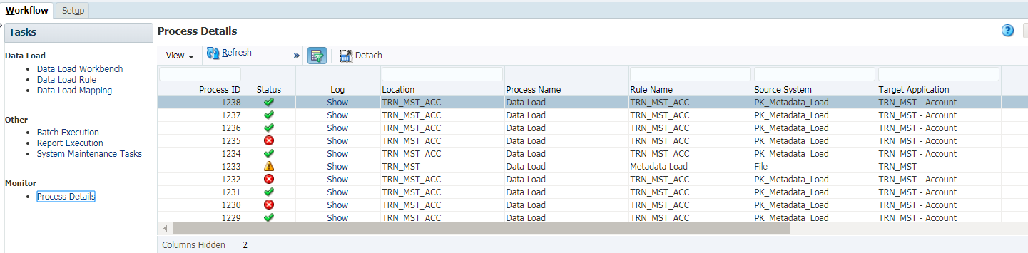 Loading Metadata Flat Files | Oracle PBCS Features You May