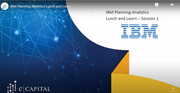 IBM Planning Analytics Video