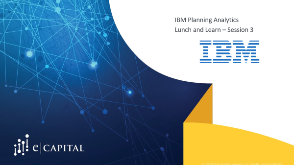 IBM PA Lunch and Learn Session Three