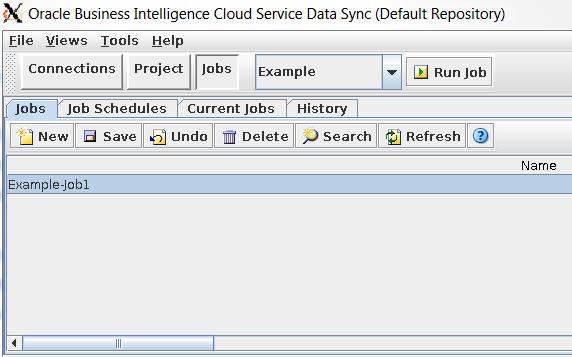 DataSync in OAC – Automating a Job Via File Creation