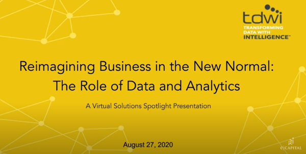 Reimagining Business in the New Normal - The Role of Data and Analytics