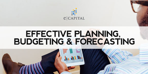 planning budgeting and forecasting
